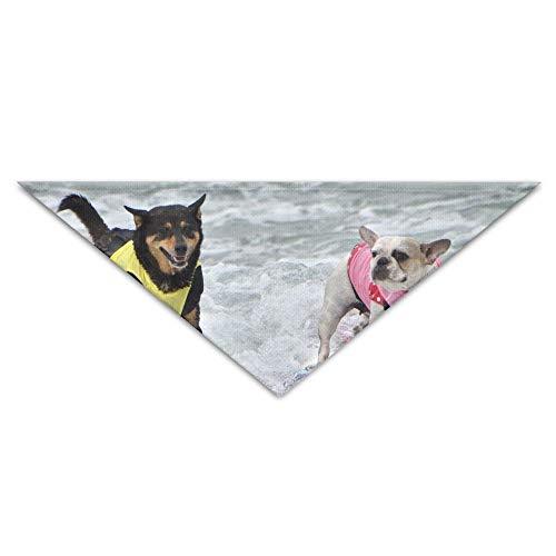 Pug Surf Turban Triangle Scarf Bib Scarf Accessories Pet Cat and Baby Puppy Saliva Dog - Niedliche Baby Kostüm Zum Verkauf