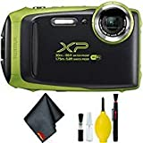 FUJIFILM FinePix XP130 Digital Camera (Lime) Basic Bundle