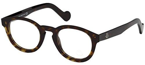 Moncler Unisex-Erwachsene Brillengestelle ML5006 052 48, Braun (Avana SCURA)