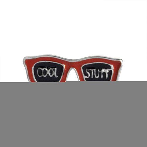 JTXZD Brosche Cartoon Collection Emaille Pin Blitz Wolken Schnurrbart Sonnenbrille Broschen Anstecknadel vom Abzeichen Funny
