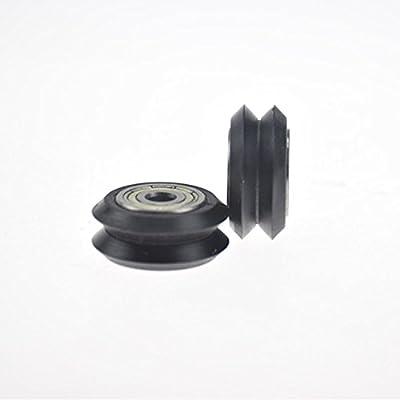Neue Dual-V-Rad-Idler Pulley Linear Extrusionsrollenlager für 3D-Drucker CNC