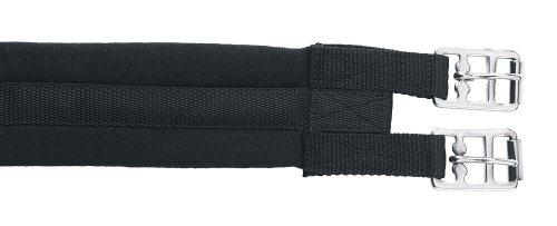 Kerbl 32431 Sattelgurt geschlossen, schwarz, 100 cm