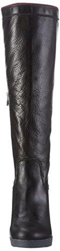 Hilfiger Denim EN56821960 - Stivali alti con imbottitura leggera Donna Nero (black 990)
