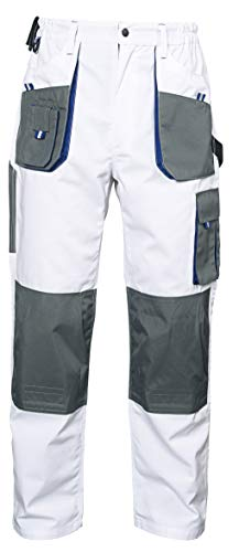 Preisvergleich Produktbild Stenso Emerton® - Herren Bundhose / Cargohose - strapazierfähig - Weiß EU46