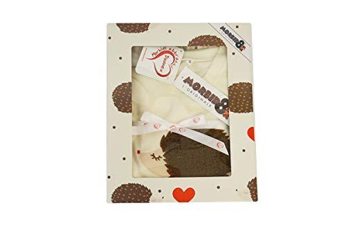 RP r.p. daunex-Pijama Traje de casa Erizo Love-Original morbidotto-Idea para Regalo-L-Color Crema