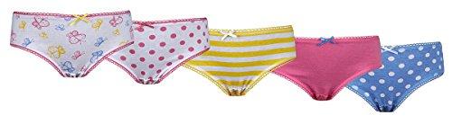 4-kidz-culotte-culotte-imprime-fille-jaune-5-pairs-yellow