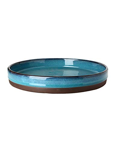 er keramischer Platten-Frucht-Teller-großer Teller-Suppen-Teller-Western-Food Dish-Haushalt 10 Zoll ()