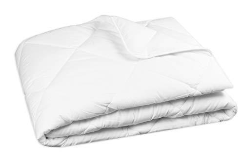 Zollner Bettdecke ca. 135x200 cm (weitere verfügbar), Für Allergiker, Füllgewicht ca. 1100 g