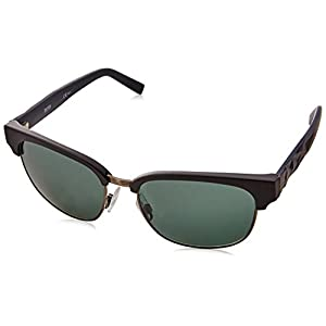 BOSS Orange BO 0234/S A3 LE1 Gafas de sol, Negro (Matt Black/Green), 54 Unisex-Adulto