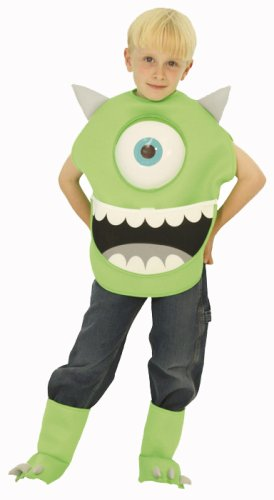 Disney Monsters, Inc. Mike Kinder Kostum Junge 100cm-120cm (Mike Kostüme Aus Monsters Inc)