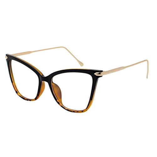 Storerine 2460 Schmetterling Seite Cat Eye Frame Brille Metall großen Rahmen flachen Spiegel großes Gesicht rundes Gesicht Brille Polarisierte für frauen mann verspiegelte linse mode brille