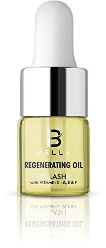 Belle® Regenerierende Öl für Eye Lashes–Wimpern Wachstum Serum, Eyelash Enhancer, Eyelash Conditioner mit Vitaminen A, E & F–regeneriert, stärkt und nährt Wimpern–Regt Keratin Produktion, befeuchtet Wimpern, beschleunigt die keratinization Prozess–6ml
