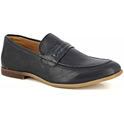 Alberto Torresi Men's Blue Leather Formal Shoes - 7 UK/India (41 EU)