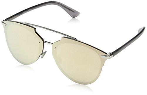 Dior Damen DIORREFLECTEDP SQ 010 Sonnenbrille, Silber (PALLADIUM/MULTILAYER GOLD), 63