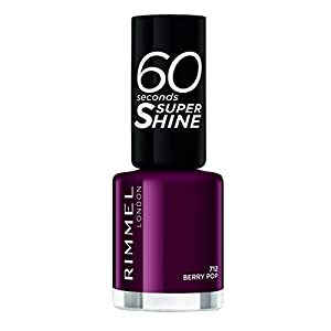 Rimmel London 60 Seconds Super Shine #712-Berry Pop – 1 unidad