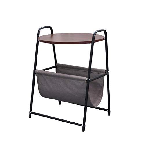 Betty Tabelle Abnehmbarer Laptop-Schreibtisch-Nachttisch-Sofa Corner Side Zhuo Couchtisch, 45x45x67cm, Schwarz -