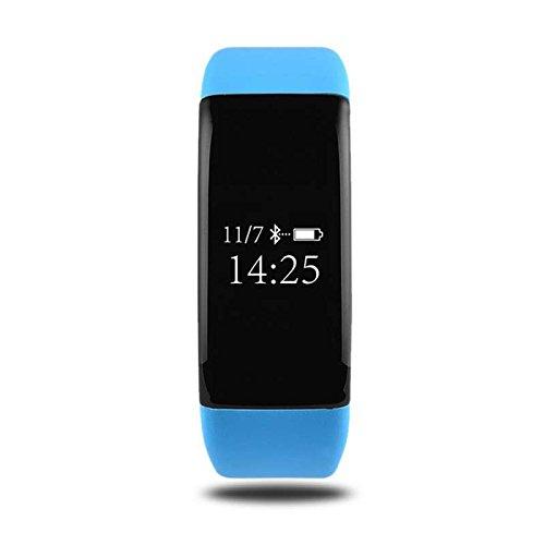 Fitness Armbänder, Fitness Aktivitätstracker Schrittzähler,Aktivitätstracker Schrittzähler Armbanduhr Schlafanalyse Kalorienzähler Anruf/ SMS Outdoor Sports Multifunktions Smart uhr,für iPhone IOS und Android Smartphones