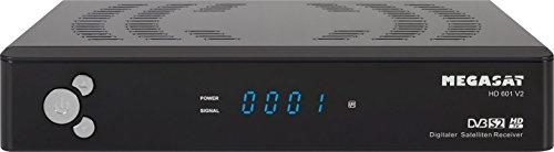 MegaSat 601 V2 HD Satelliten Receiver schwarz