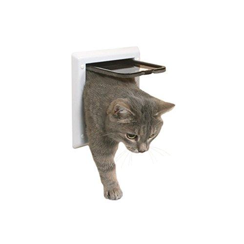 Puerta para gatos TRIXIE Gatera para puertas 2 posiciones
