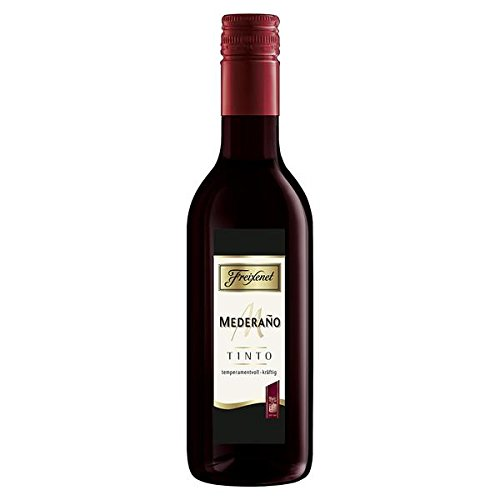 12 Flaschen Spanischer Freixenet Mederano trocken, rot a 0,25L Picollo