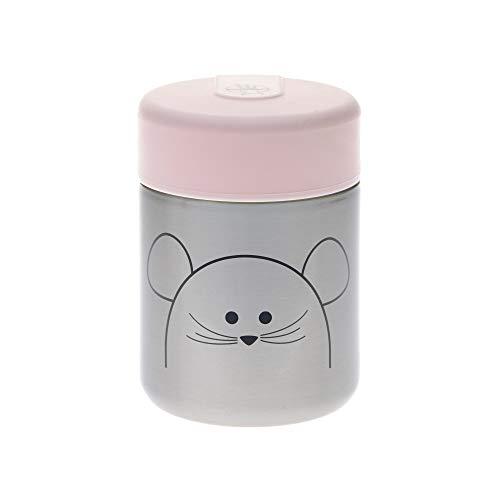 Preisvergleich Produktbild LÄSSIG Baby Kinder Thermo Warmhaltebox Brei Snacks auslaufsicher Edelstahl / Little Chums Mouse