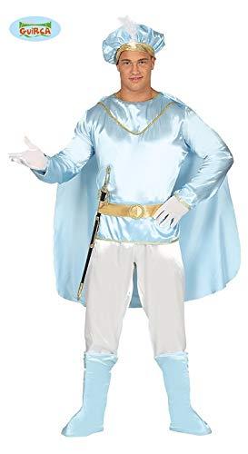 Costume principe azzurro uomo delle fate