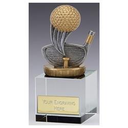 Merit Crystal Golf Flexx (N) Golf Trophy Award