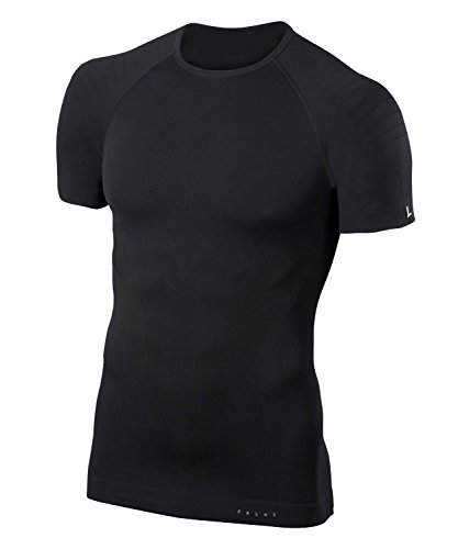 FALKE Herren Warm Shortsleeve Shirt Tight Unterwäsche, Black, M
