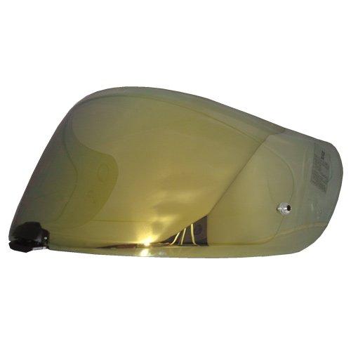 HJC Helmets casque Shield/Visière Hj-20 m (Or, Argent, Bleu) pour Fg-17, Is-17, Rpha ST casques, casque de moto Bike Racing Accessoires - fabriqué en Corée