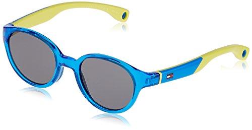 Tommy Hilfiger Unisex-Erwachsene Sonnenbrille TH 1424/S DO, Schwarz (Blue), 43 Preisvergleich