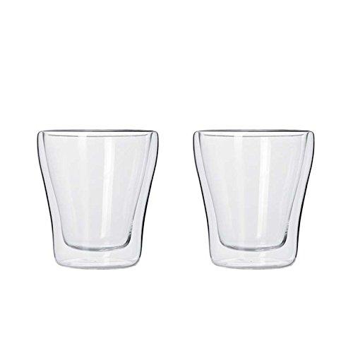 Leonardo - Duo - doppelwandige Becher - Espressobecher, Espressotassen - Glas - 2er Set - 40 ml