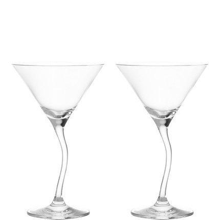 Leonardo Modella Cocktail Goblet, Cocktail Glass, Martini Glass, Sekt Glass 200 ml, Set of 2, 69415