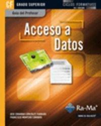 Guía Didáctica. Acceso a Datos. R. D. 1691/2007