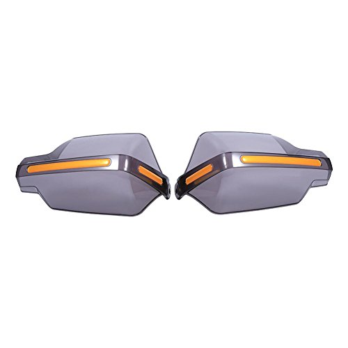 1Pair Protezioni per paramani per moto, 7/8'Manubrio Protezione per maniglie Protezione per parabrezza(Clear)