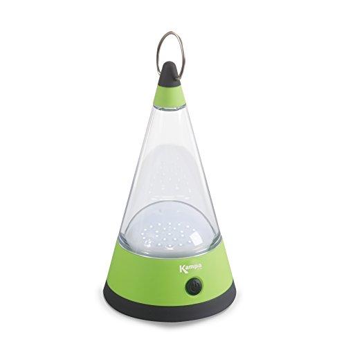 Lampe in Kegelform inklusive Ring zum Aufhängen 12 helle LED's batteriebetrieben • LED Campinglampe Nachtlicht Zelt Licht Vorzeltbeleuchtung Taschenlampe (Stehend Taschenlampe)