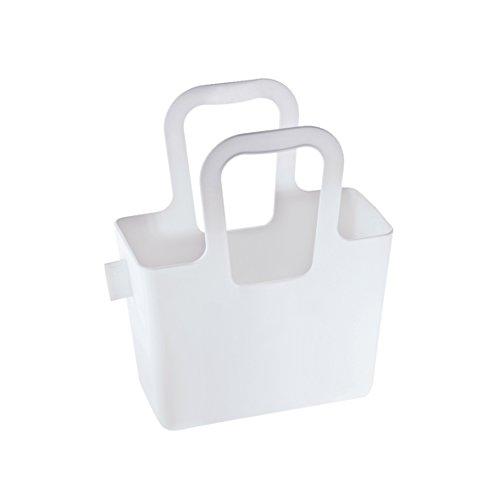 Deluxe-shop Schreibtisch (koziol Tasche Taschelini, Kunststoff, weiß, 7,8 x 16,1 x 18,3 cm)