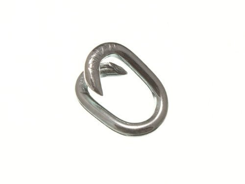 Recinzione di riparazione Link 5mm 3/40,6cm zincato resistente alle intemperie (confezione da 200)