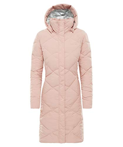 THE NORTH FACE Miss Metro II Parka Women Misty Rose Größe M 2018 Jacke - Face Jacke Down Damen North
