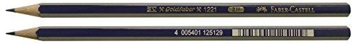 Faber-Castell B-1221-2H-2 - Blíster 2 lápices grafito