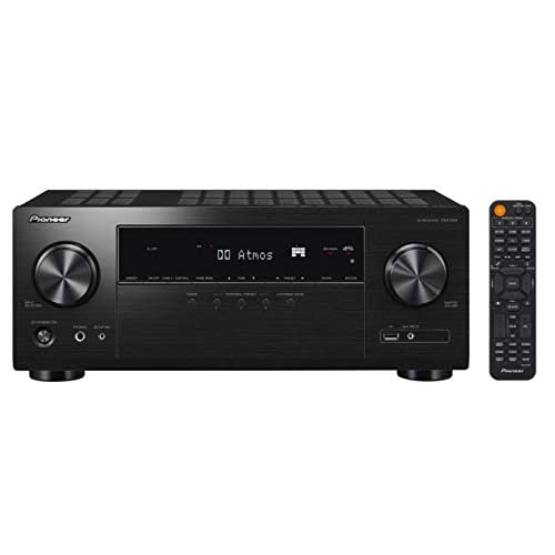 Pioneer VSX-934 Receiver 7.2-channel (7×160 Watt, 6 HDMI Inputs (4K), Dolby Atmos, DTS: X, Dolby Atmos Height…
