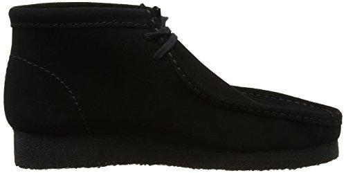 Clarks Originals Wallabee, Boots homme Noir (Black Sde)