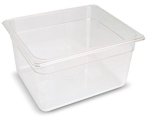 Sous Vide Behälter Polycarbonat 1/2 GN 11,6 Liter 265x325x200 Becken bis 138°C