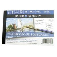 """12 Blatt DIN A6 Aquarell Postkartenblock """"Langton"""" Feinkorn von Daler Rowney bei TapetenShop"""
