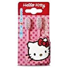 Higiene Dental y Tiritas SD0068 - Recambio de cepillo de dientes eléctrico Hello Kitty, 2