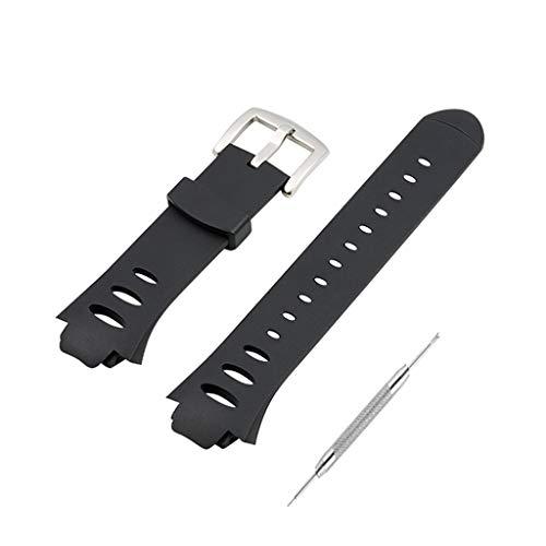 Watermk Uhrenarmband Strap Wristband Soft Silicone Wrist Bracelet Robuster Ersatzschraubendreher für Suunto Observer SR SS0S4723000 X6HRM