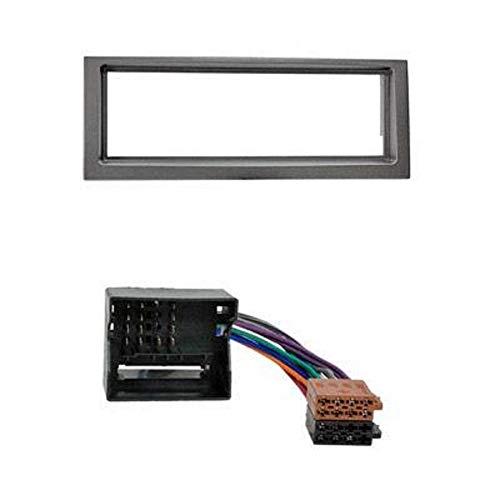 ADNAuto 52325 Kit Adaptateur Autoradio 1Din Noir /Citroen C5 05-08 + Iso-Kitfac168/2