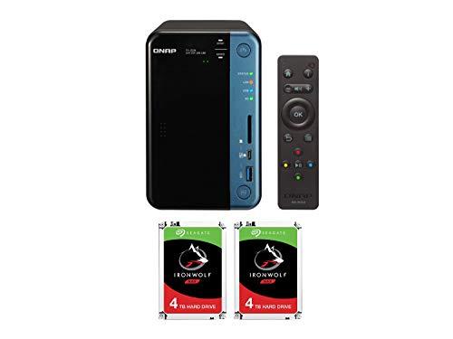 Qnap TS 253B QTS Linux combo quad core - Qnap TS-253B : QTS-Linux combo quad-core NAS (8TB)