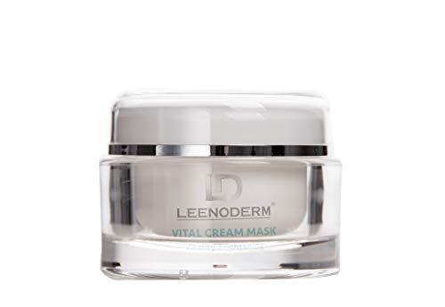 *NEU* LEENODERM - Vital Cream Mask 50ML spendet maximale Feuchtigkeit und ist die ideale Creme für ihre Gesichtspflege und Hautpflege - Junge und elastische Haut dank der Nachtcreme für Männer/Frauen