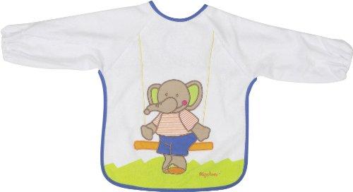 Playshoes 507197-607 - Babero de manga larga, diseño de elefante, 39 x...