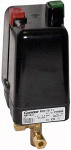 Druckschalter, Kompressoren, m. Entlastungsventil, Drehstrom, F4 1/2, Mediumstemp. -5 °C bis 80 °C, G 1/2, Einstellbe. 2-11 bar